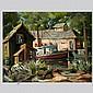 William E. Frates, California Landscape Art, William E Frates, Click for value