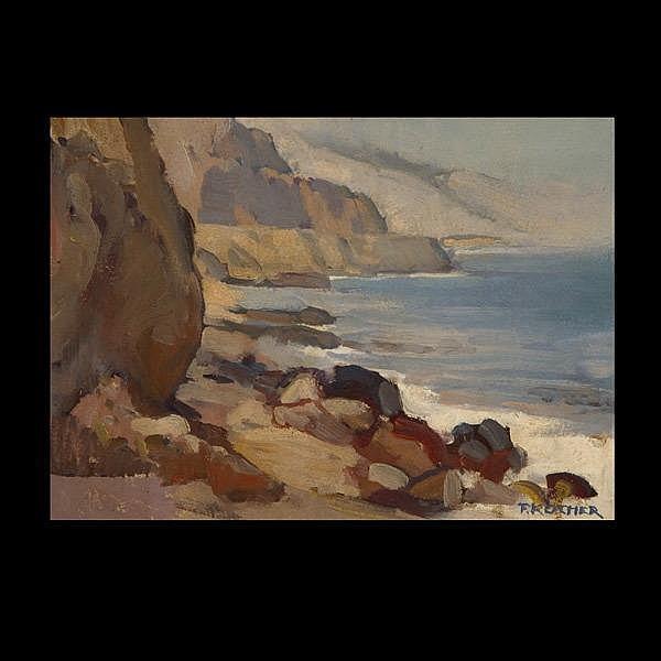 Fritz Kocher, Malibu Coast, California Art