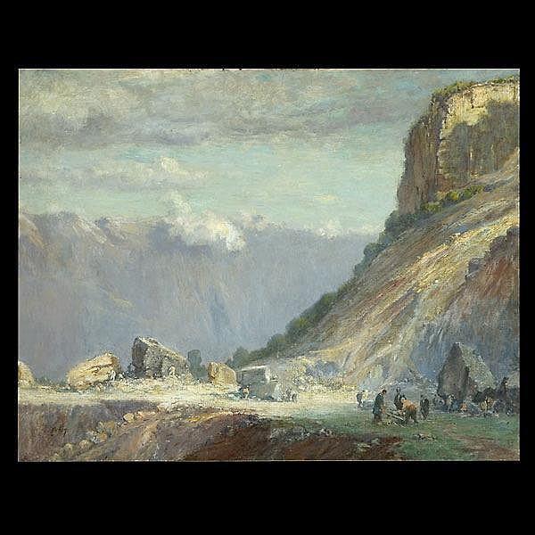 Lewis Cohan, American Art, European Landscape