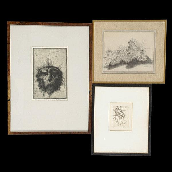 3 works by T. CORNELL, T. BLACKWELL, B BEASLEY
