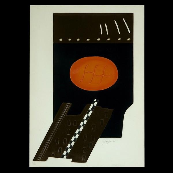 Gino Scarpa, embossed etching