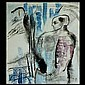 Ariel Parkinson, Abstract Figure, oil, Ariel  Parkinson, Click for value