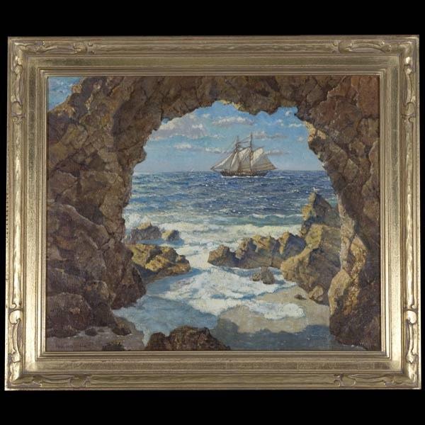 California art, Hernando Villa, oil