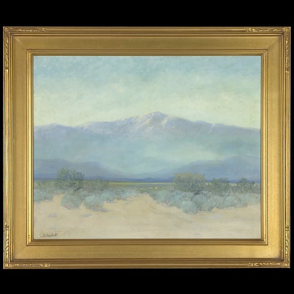 Bickerstaff, Desert Landscape, California Art