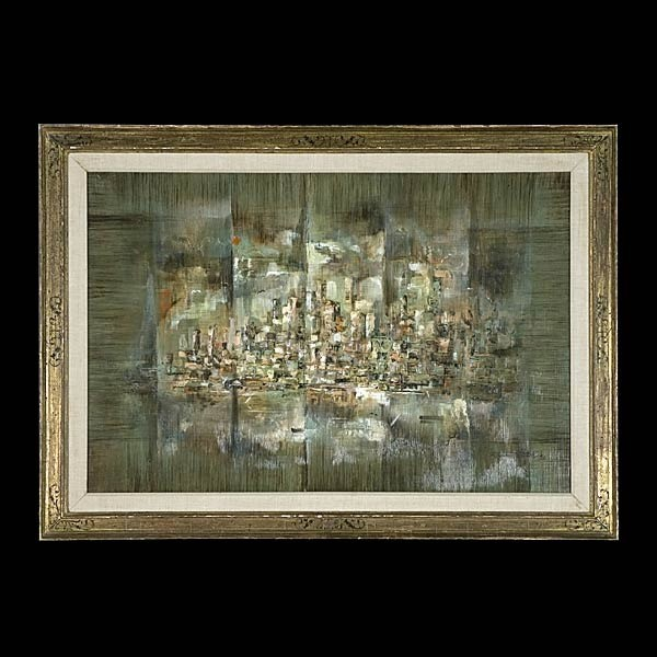 California art, SF Bay Area, Raymond Howell, oil