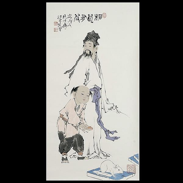 Fan Zen Artwork For Sale At Online Auction Fan Zen