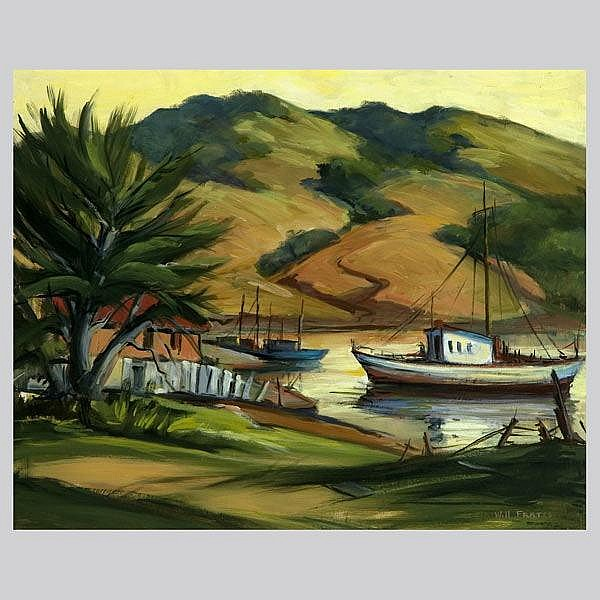 William E. Frates, California Landscape Art