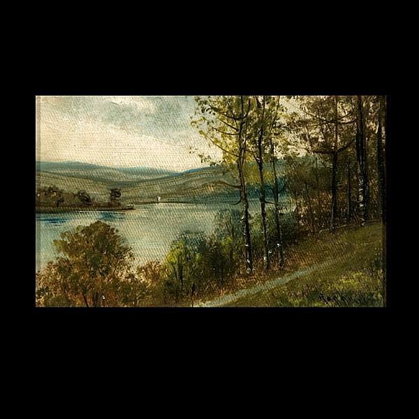 Raphael Senseman, American Autumn Landscape