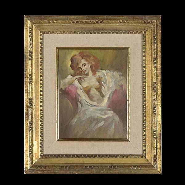 American Art, Julian Ritter, Female Nude.