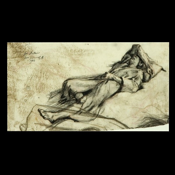 Sigmund Ables, American Figure Study Signed dated