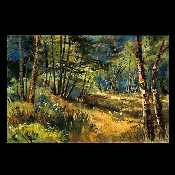Ben Abril, American Landscape Art signed
