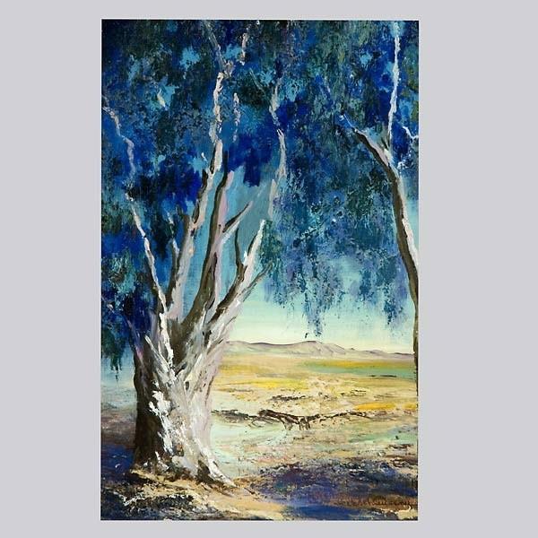 Schleussner, Eucalyptus Tree / Desert Landscape