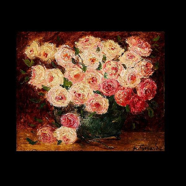 HENRY GERARD, Bouquet of Roses,