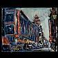 Cucaro. California Art. Chinatown. Oil on, Pascal Cucaro, Click for value