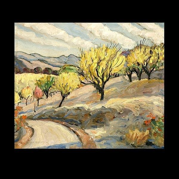 Clark Hobart Artwork For Sale At Online Auction Clark Hobart Biography Info