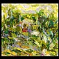 Richard Bowman, Garden Scene, American Art, Richard Irving Bowman, Click for value
