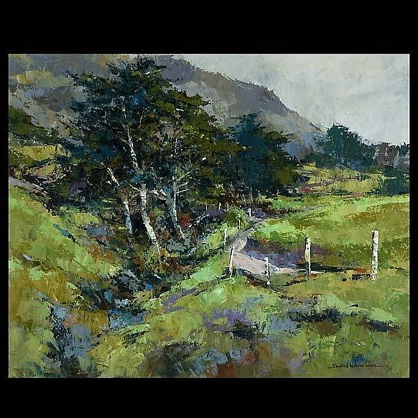Edward Norton Ward, California Art Landscape