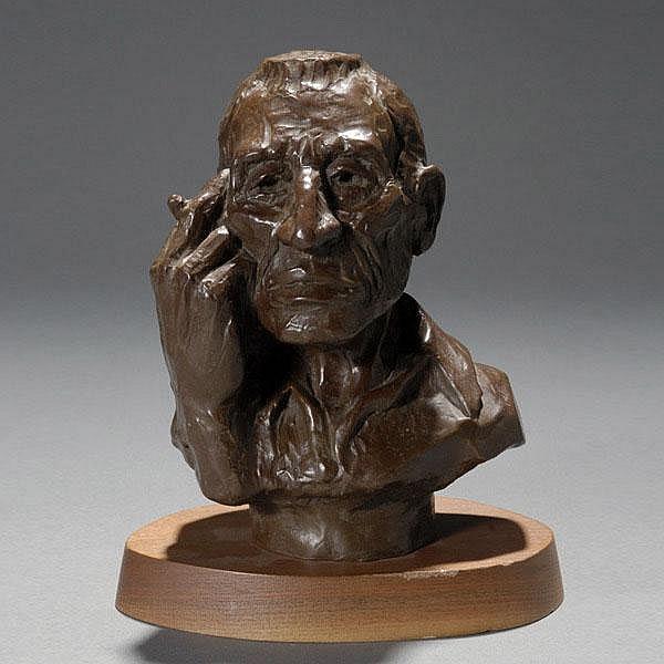 DAVE POWELL Bronze Sculpture