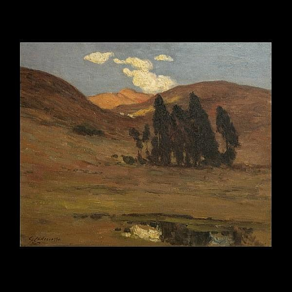 Cadenasso. California Art. Landscape. Oil.