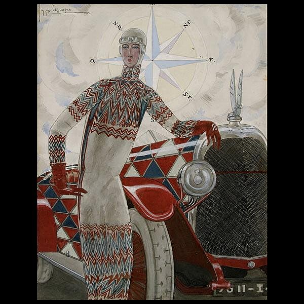 George Lepape, Original 1925 Vogue cover