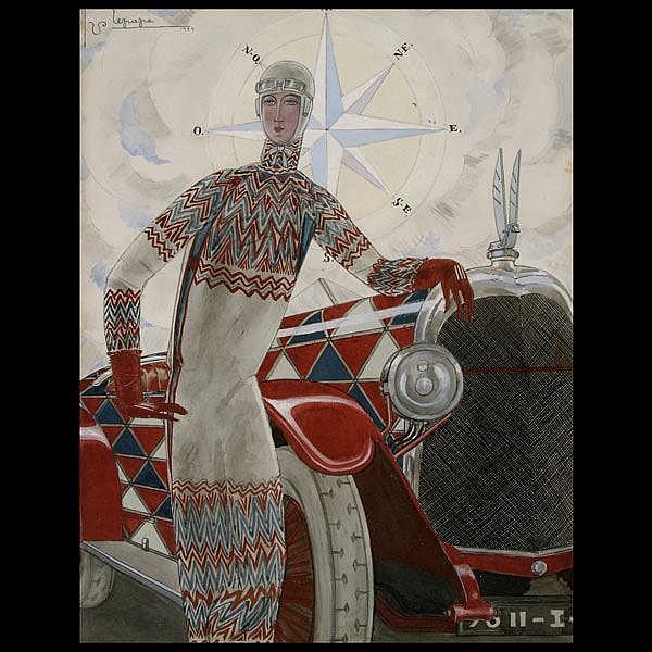 George Lepape, Original 1925 Vogue cover