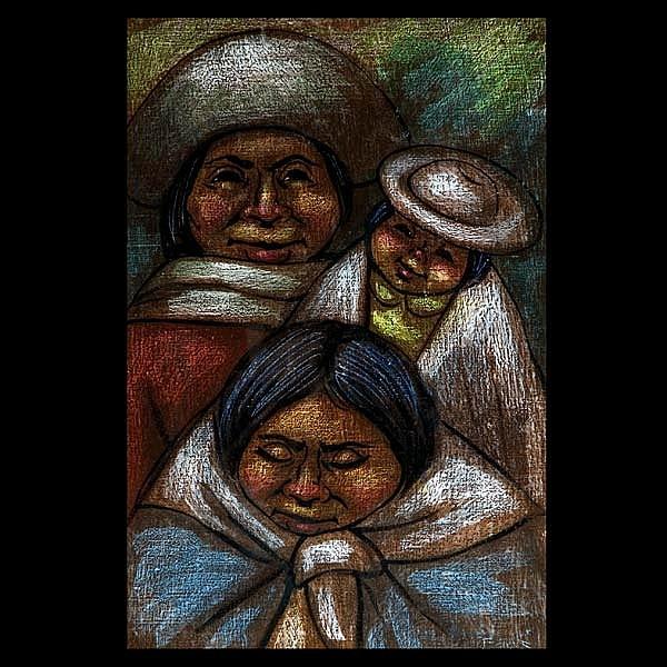 Camilo Egas, Family Latin American Art