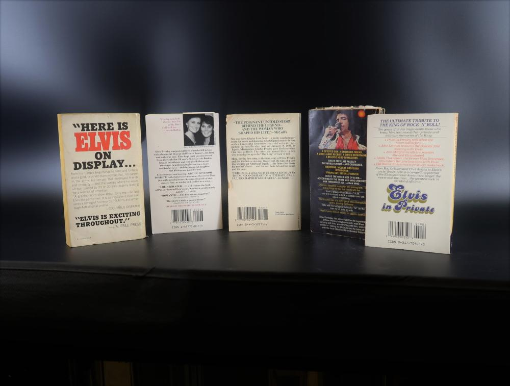 Pocket Books Life Story with Elvis Presley