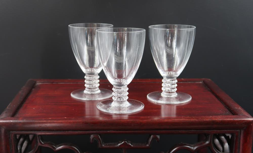 R. Lalique Water Glass (3)