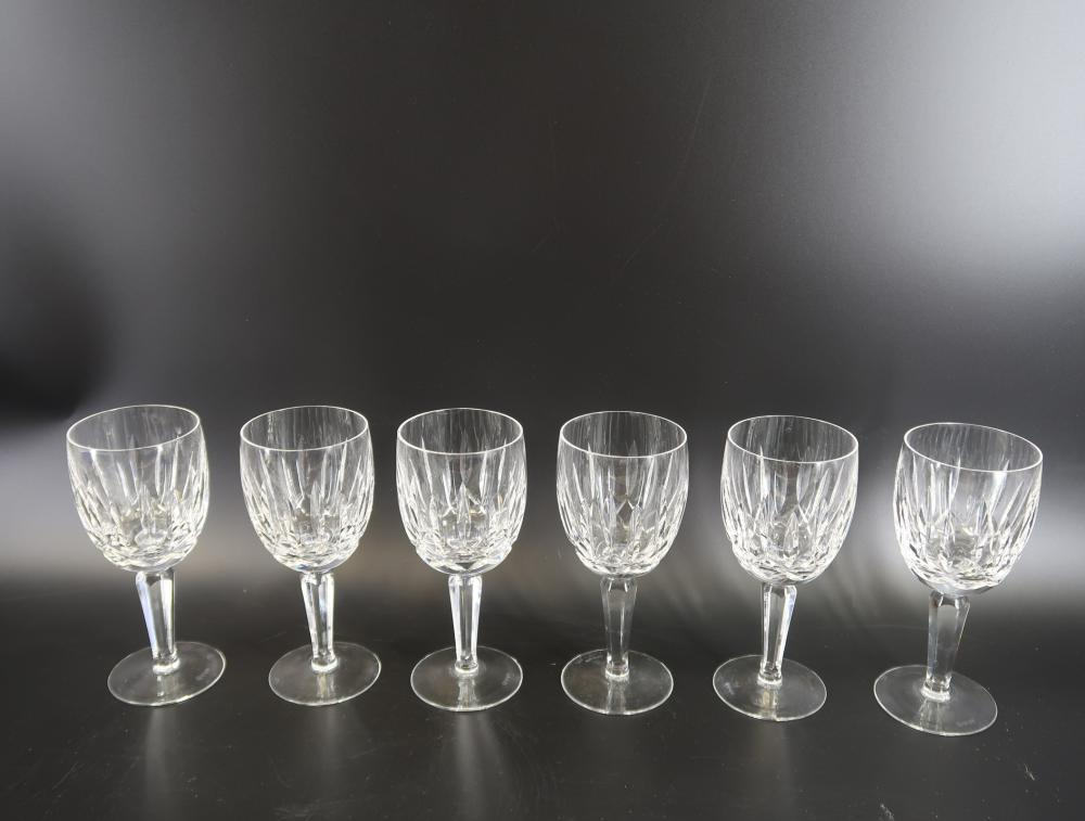 (6)Water Ford   Glasses