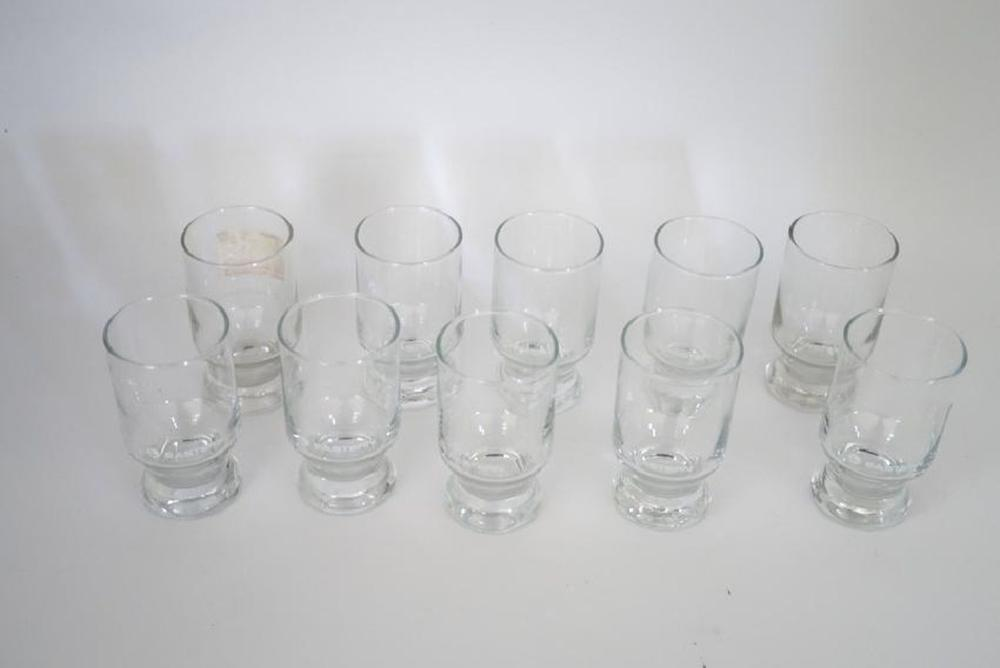 (10) Eastern Airlines Cocktail Glasses