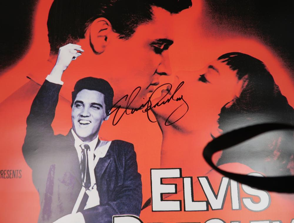 Elves Presley Theater Poster