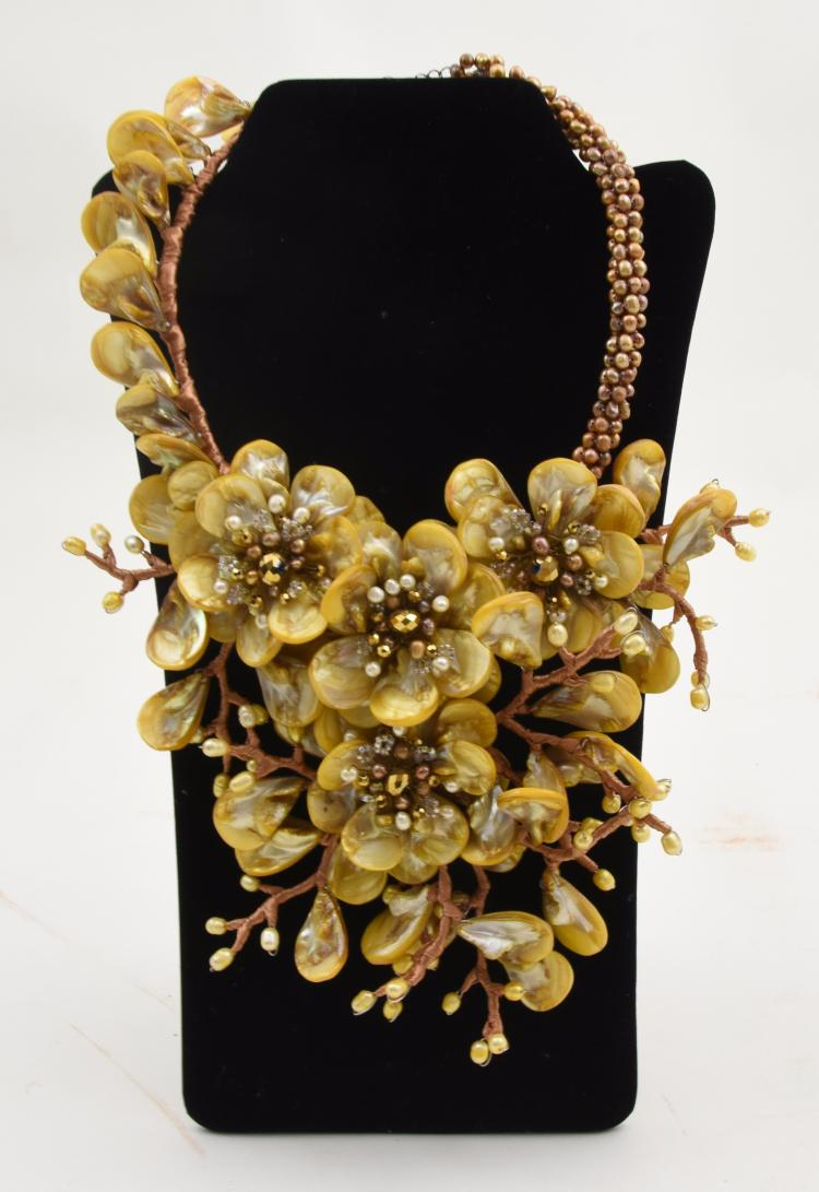 Couture fashion necklace