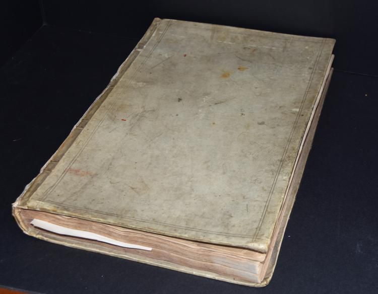 William Cordells estate records book
