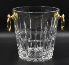 Cartier France Crystal Champagne Bucket signed