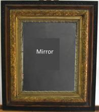 Antique Mirror Beveled Glass