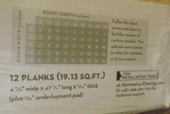 Lot Harmonics Laminate Flooring, Vineyard Cherry Laminate Flooring 559852