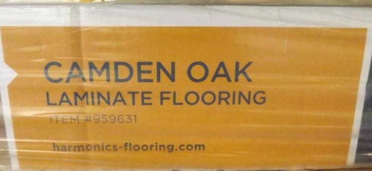 Lot Harmonics Laminate Flooring, Harmonics Camden Oak Laminate Flooring