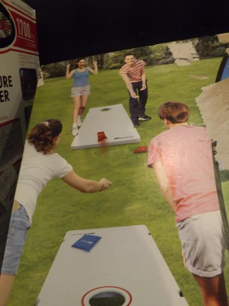 Remarkable Md Sports All Weather Bean Bag Toss Game Cornhole Ocoug Best Dining Table And Chair Ideas Images Ocougorg