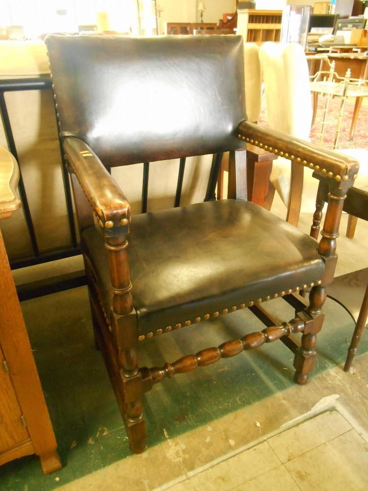 Image result for wooden riveted chair