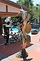 Huge Bronze Fountain-Swordfish by Bayre