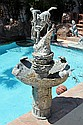 Extra Large Bronze Fountain-Mountain Man by Remington