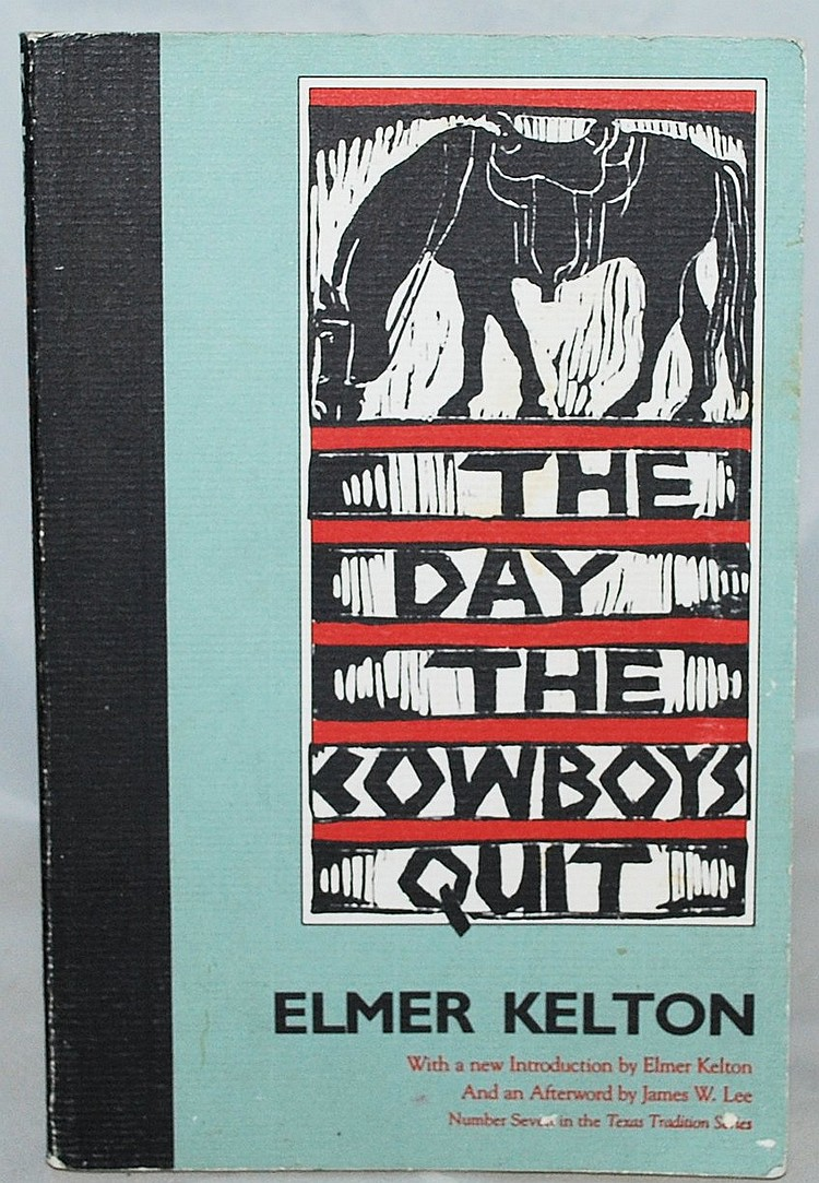 the day the cowboys quit Editions for the day the cowboys quit: 0812574508 (paperback published in 1999), (kindle edition), 0765360551 (paperback published in 2008), 0875650546.