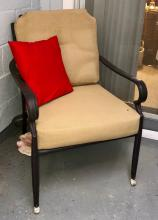 Lot 127: Patio Couch & Chair