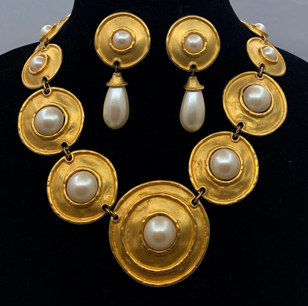 Lot 58: Shield Necklace