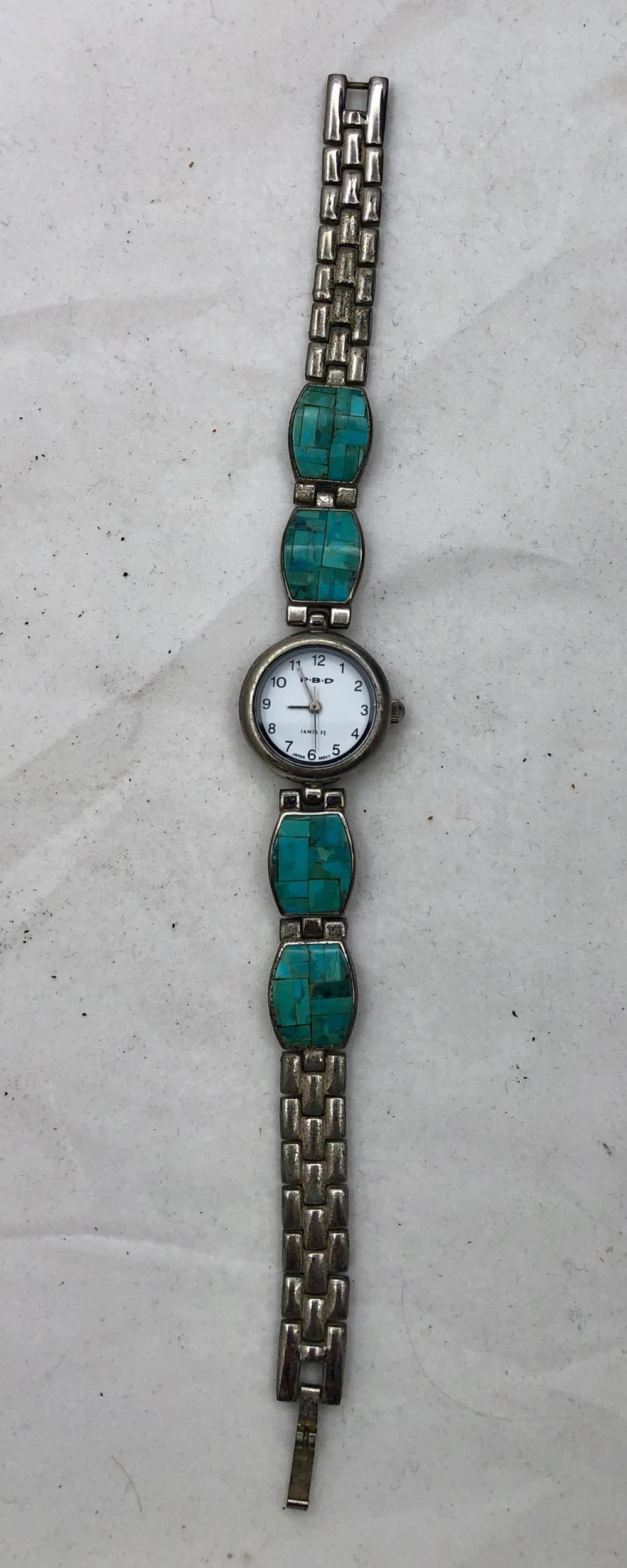 Lot 55: P.B.D Santa Fe Ladies Watch