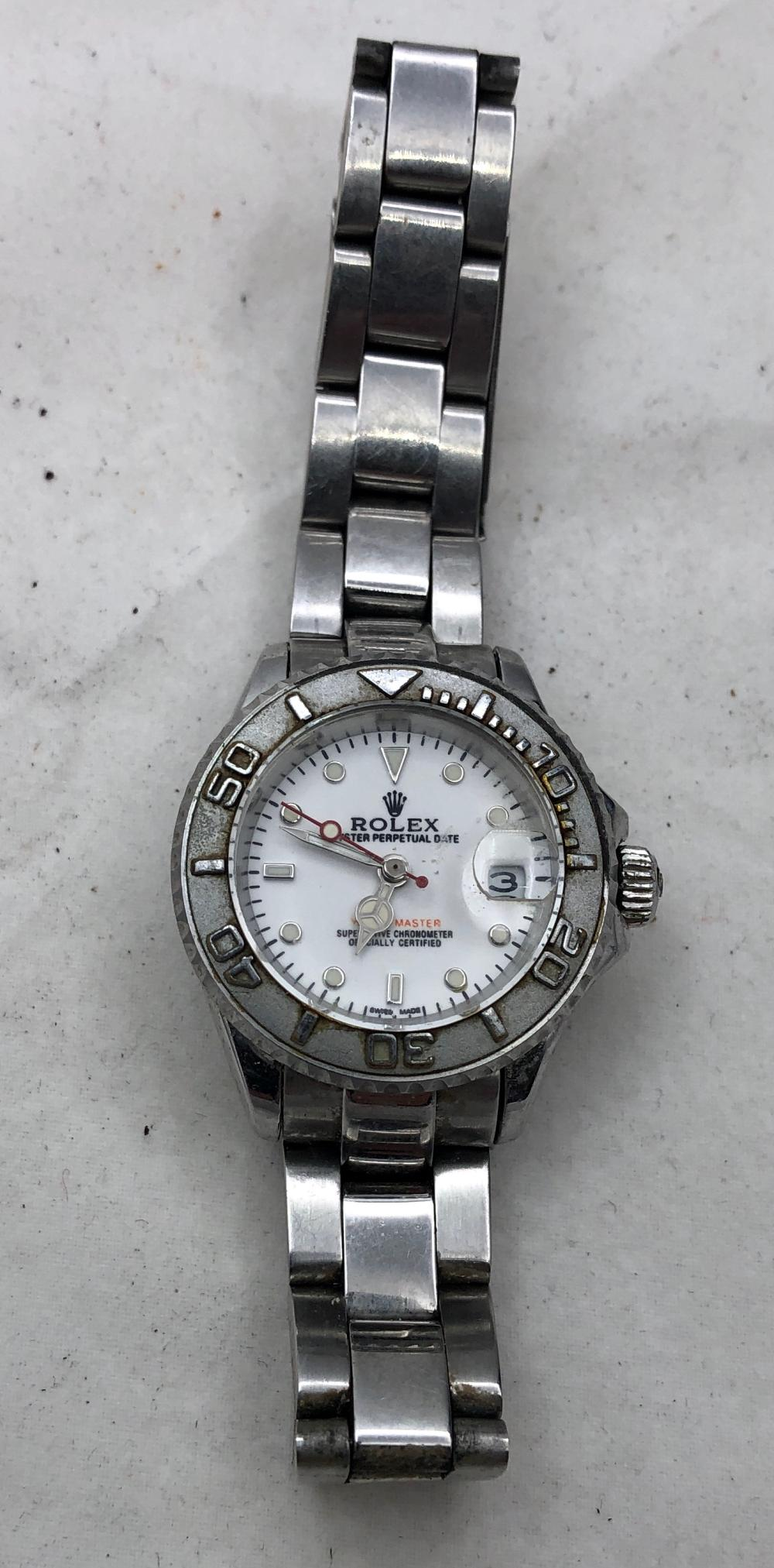 Faux Rolex Ladies Watch