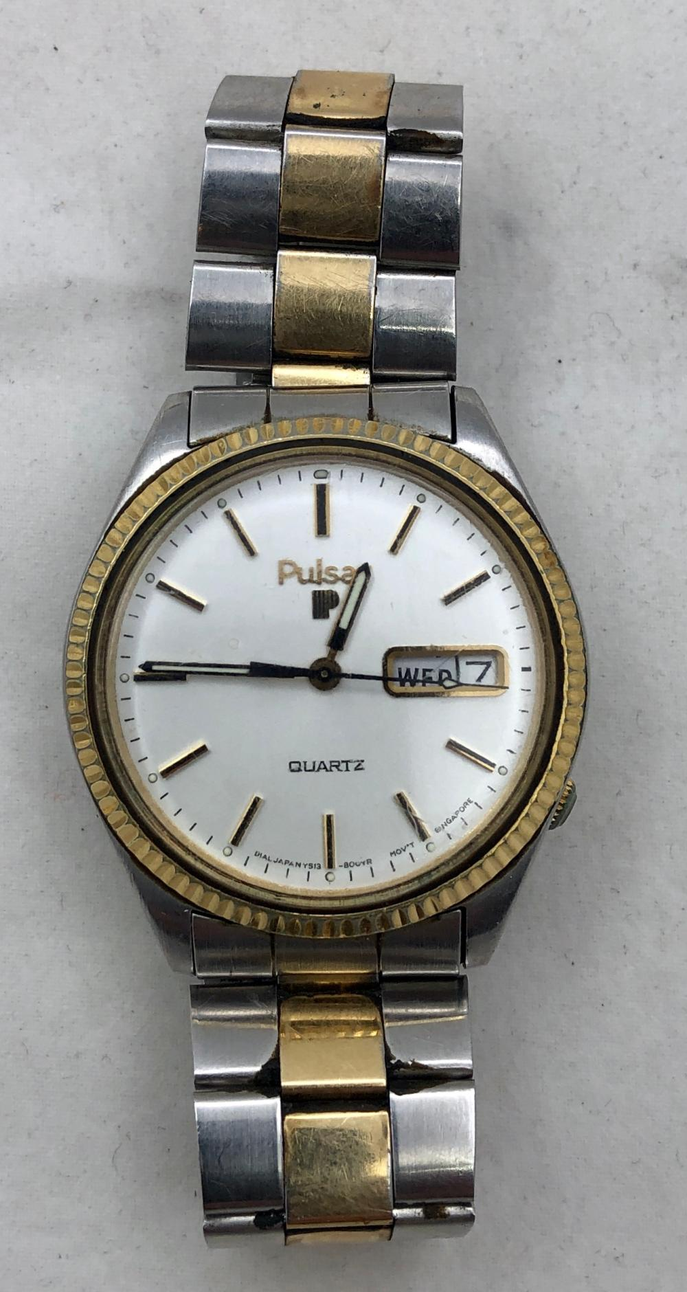 Pulsar Quartz Men's Watch
