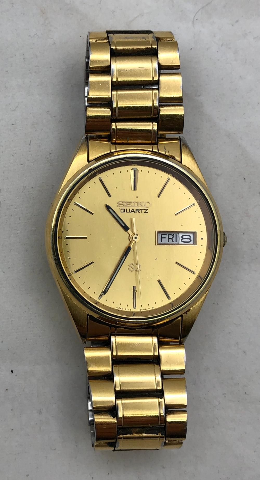 Seiko Quartz Men's Watch