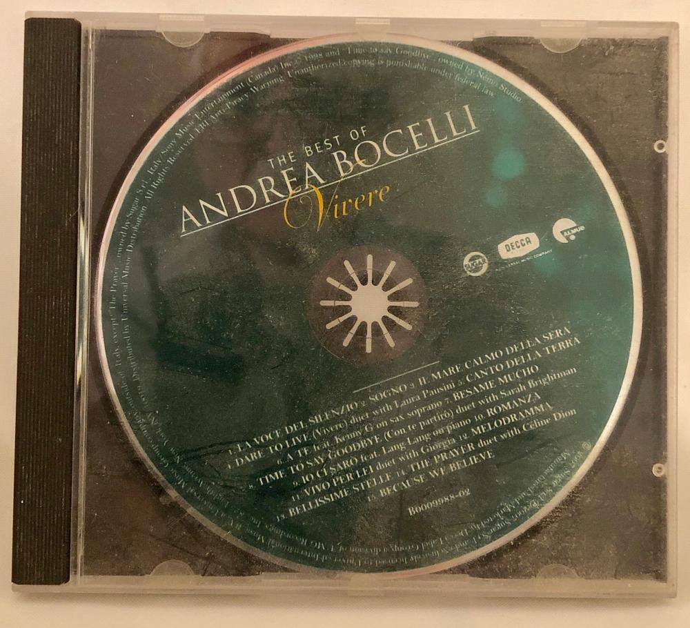 Lot 195: Audio CD