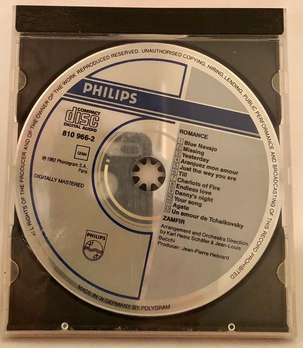 Lot 202: Audio CD